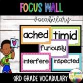 WONDERS Vocabulary Words Unit 1-6 BUNDLE (ENTIRE YEAR) 3rd grade