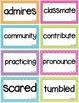 WONDERS Vocabulary Words Unit 1-6 BUNDLE (ENTIRE YEAR) 3rd grade