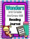 3rd Grade Wonders Reading Notebook