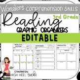 3rd Grade Wonders | Reading Skills Graphic Organizers | ED