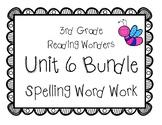 3rd Grade McGraw Hill Wonders Spelling Unit 6 Word Work Packet