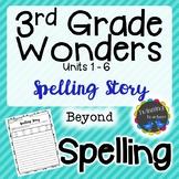 3rd Grade Wonders Spelling - Writing Activity - Beyond Lis