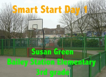 3rd Grade Wonders Start Smart Day 1
