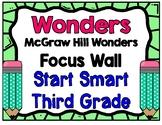 3rd Grade Wonders Start Smart Focus Wall