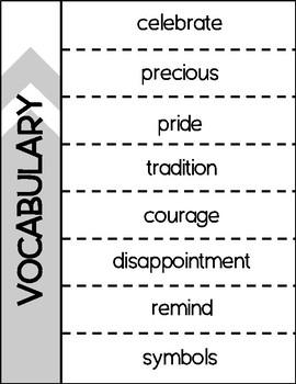 3rd Grade Wonders Unit 1 Vocabulary BUNDLE