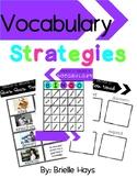 3rd Grade Wonders Unit 1 Week 1 Vocabulary Strategies