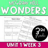 3rd Grade McGraw-Hill Wonders Unit 1 Week 3 Resources