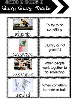 3rd Grade Wonders Unit 2 Week 1 Vocabulary Strategies