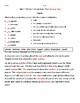 3rd  Grade Wonders Unit 3 Week 3 Vocabulary Test