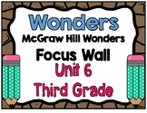 3rd Grade Wonders Unit 6 Focus Wall