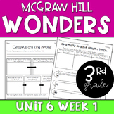 3rd Grade McGraw-Hill Wonders Unit 6 Week 1 Resources