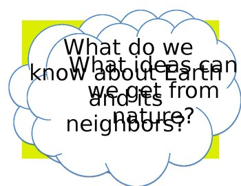 3rd Grade Wonders Units 1-6 Essential Question Posters