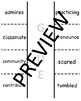 3rd Grade Wonders Vocab Foldables Bundle