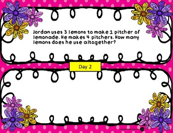 3rd Grade - Word Problem of the Day