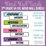 3rd Grade Word Wall Cards BUNDLE