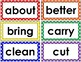 3rd Grade Word Wall Cards (Polka Dot)