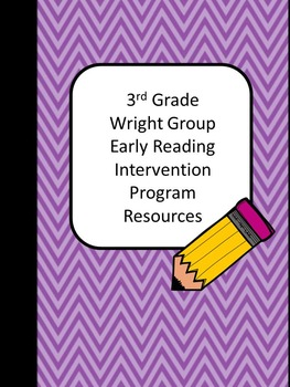3rd Grade Wright Group Early Intervention Resources for Comprehension