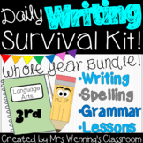 3rd Grade Writing Survival Kit! Whole Year Bundle of Resources!