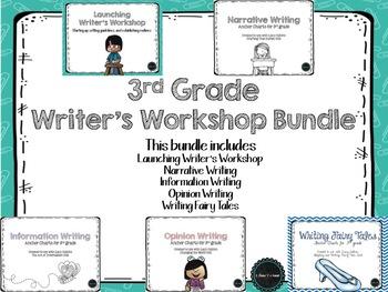 3rd Grade Writing Bundle
