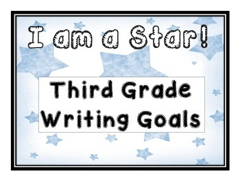3rd Grade Writing Goals