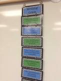 3rd Grade Writing Goals Clip Chart