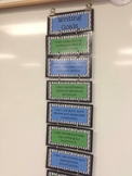 3rd Grade Writing Goals Clip Chart