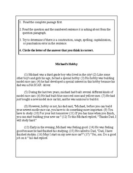 3rd Grade Writing Practice 2