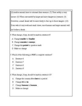 3rd Grade Writing Practice 3