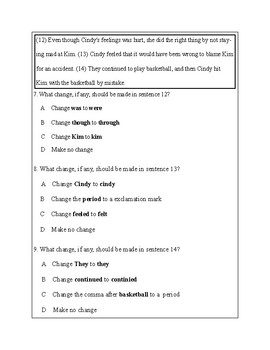 3rd Grade Writing Practice 5