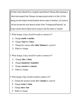 3rd Grade Writing Practice 7