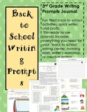 3rd Grade Writing Prompts