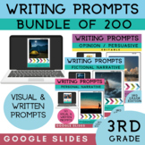 3rd Grade Writing Prompts Bundle   200 Writing Prompts   G
