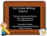 3rd Grade Writing Rubrics