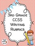 3rd Grade Writing Rubrics (EDITABLE & DIGITAL)