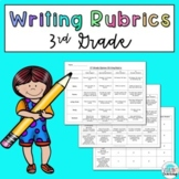 3rd Grade Writing Rubrics: Narrative, Opinion, and Informative