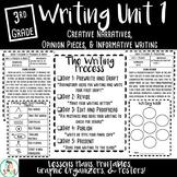 3rd Grade Writing Unit One