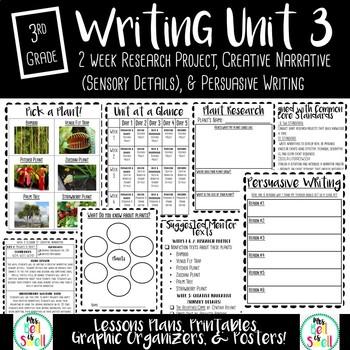 3rd Grade Writing Unit Three