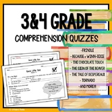 3rd Grade and 4th Grade Reading Comprehension