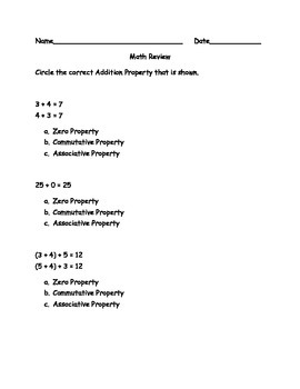 3rd Grade enVision Math Topic 2 Review
