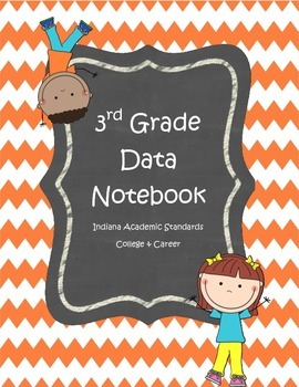 3rd Grade front cover Data Notebook