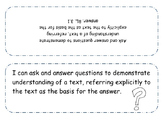 3rd Grade iCan Statements - Reading