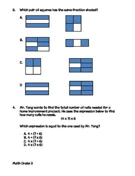 3rd Grade iLEAP Practice