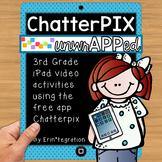 iPad  Activities for Reading & Math using Chatterpix: 3rd Grade