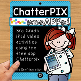 iPad  Activities for Reading & Math using Chatterpix: 3rd Grade