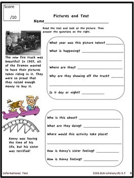 3rd Grade Language Arts Common Core Documentation Bundle