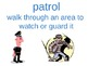 3rd Grade:Journeys Lesson 14 Aero and Officer Mike Printable Vocabulary Cards