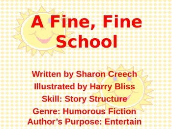 3rd L-1 A Fine, Fine, School Vocabulary/Spelling/Comprehension Power Point