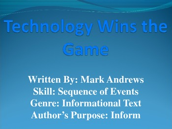 3rd L-11 Technology Wins... Vocabulary/Spelling/Comprehension Power Point