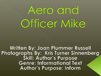 3rd L-14 Aero and Officer Mike Vocabulary/Spelling/Compreh