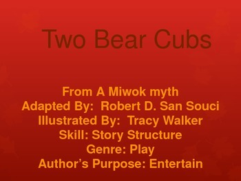 3rd L-19 Two Bear CubsVocabulary/Spelling/Comprehension Power Point